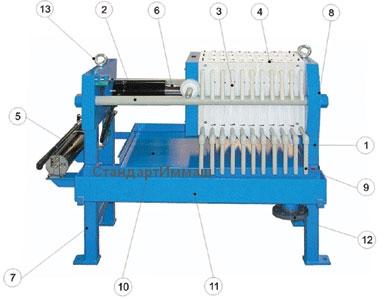 конструкция пресса изготовления прикормки толстолобика
